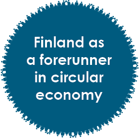 Finland as a forerunner in circular economy